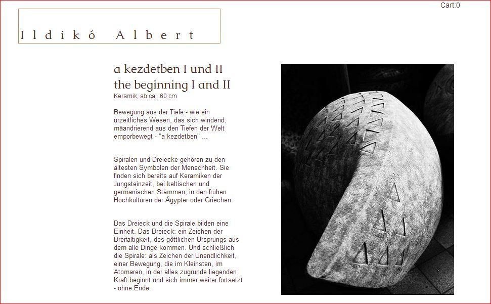 ALBERT Ildiko | a-kezdetben