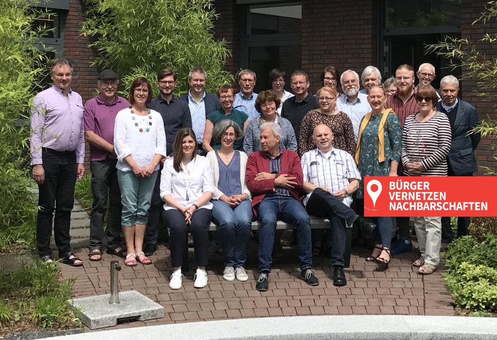 NRW Modellprojekt Bürger vernetzen Nachbarschaften. Quartiersentwicklung nutzt digitalen Wandel