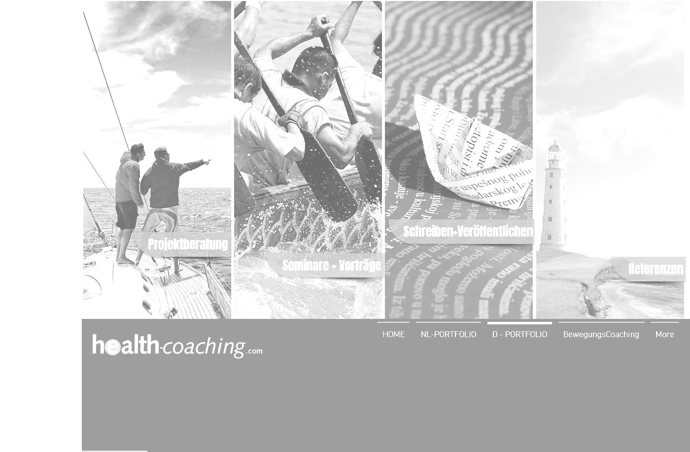 Alte Homepage HC
